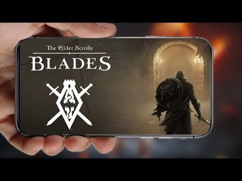 INCRÍVEL!!! The Elder Scrolls: Blades ! Skyrim MOBILE!!! ( E3 2018 ) Omega Play