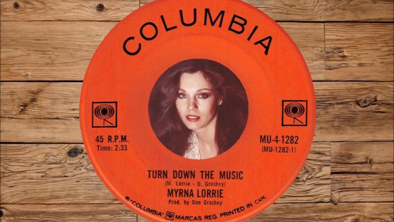 Myrna Lorrie - Turn Down The Music 1968 - YouTube