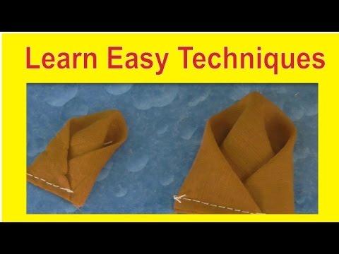 How to Make Drape Techinques /Amazing Design