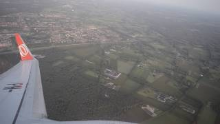transavia   boeing 737-800  Take off from Eindhoven airport