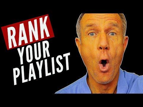 How To Rank YouTube Playlist