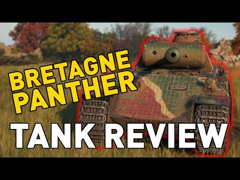 World Of Tanks    Bretagne Panther - Tank Review