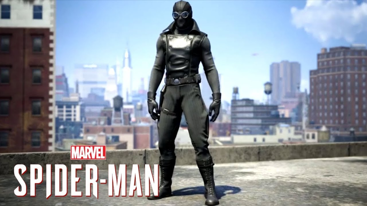 Marvel 39 s spider man ps4 spider man noir movie suits and classic spider man confirmed youtube - Image spiderman noir ...