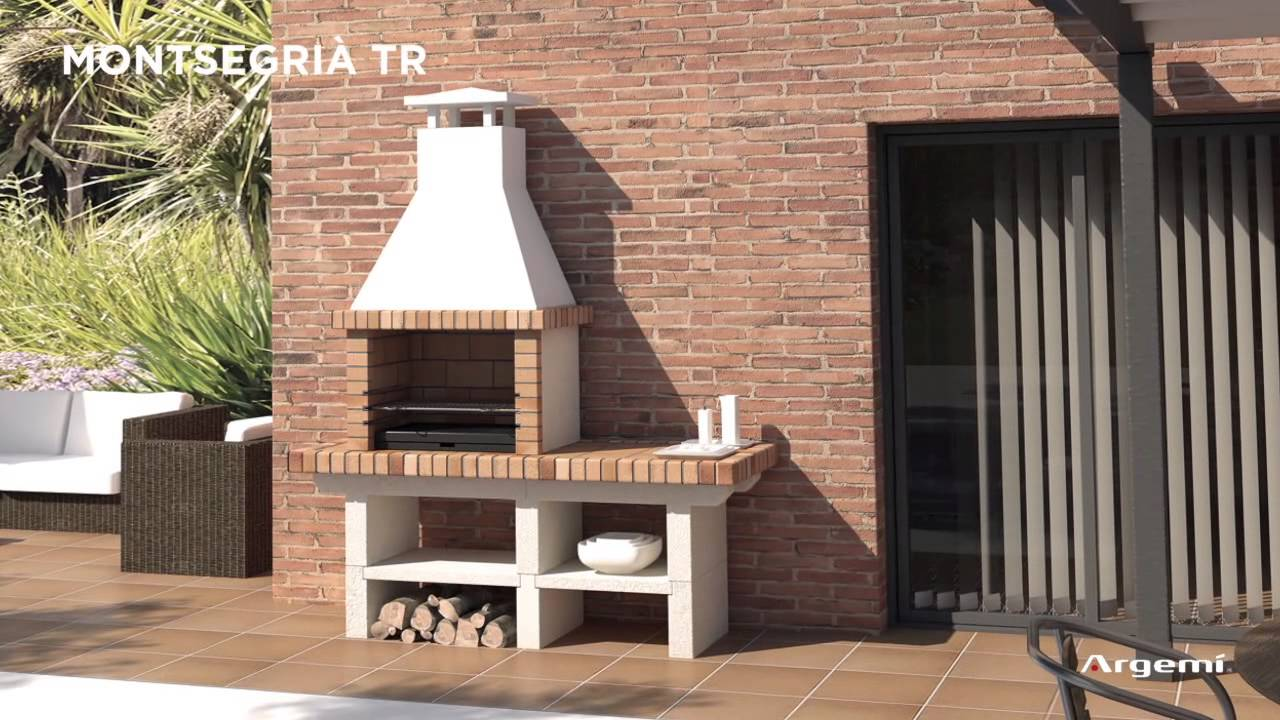 Barbacoas construcci n youtube for Barbacoas de jardin