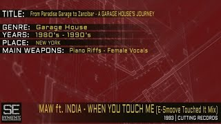 Masters At Work Feat. India - When You Touch Me (E-Smoove Touched It Mix) (Cutting Records | 1993)