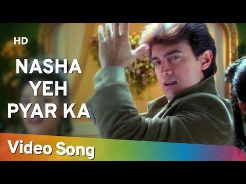 Nasha Yeh Pyar Ka | Mann (1999) | Aamir Khan | Manisha Koirala | Udit Narayan Hits