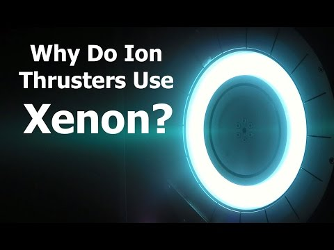 Why Do Ion Thrusters Use Xenon?   KSP Doesn