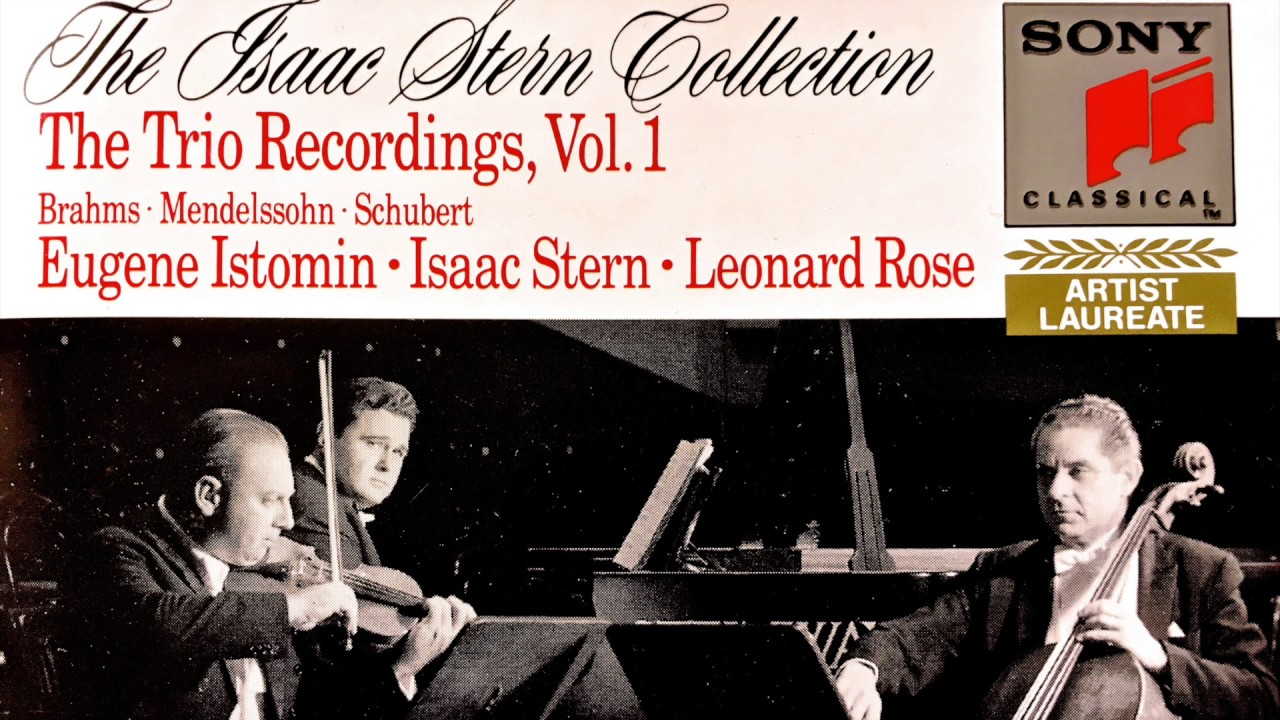 Schubert - Trios n°1, 2 Op 100 for Piano, Violin & Cello (reference  recording : Trio Isaac Stern)