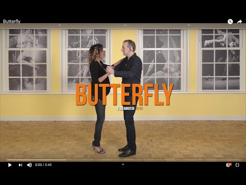 Salsa Beginners 2 - The Butterfly Move - How To Make The Lady Shine On The Dancefloor