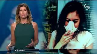 Chilevision Noticias -Pilar Olave -Desarrolla rara enfermedad- Alérgica a TODO