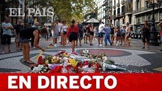 17 A | Ofrenda floral por las víctimas en el aniversario de los atentados de Barcelona y Cambrils
