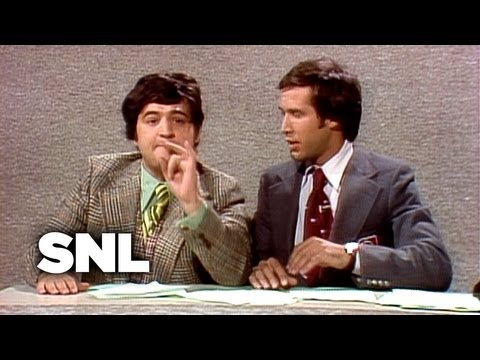 Weekend Update: John Belushi On March - Saturday Night Live