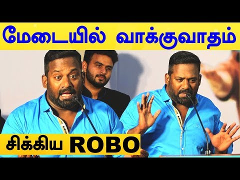 Robo Shankar's Controversy Chat With Press People! | Mr. Local Press Meet | Sivakarthikeyan | nayan