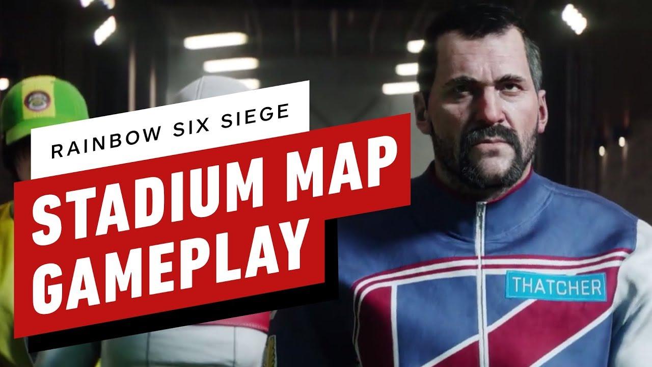 Rainbow Six Siege: Stadium Map Gameplay thumbnail