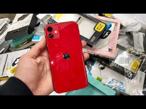 Photo of FOUND PRODUCT RED iPHONE 11!! DUMPSTER DIVING APPLE STORE!! – ايفون