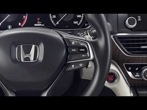 How to Use the Head-Up Display (HUD)  on the 2018 Honda Accord