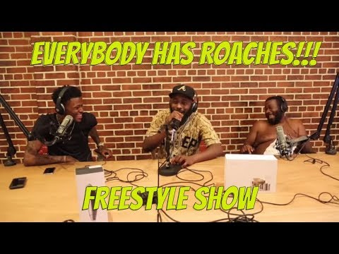 Everybody Has Roaches with @karlousm @dcyoungfly and @fatandpaid
