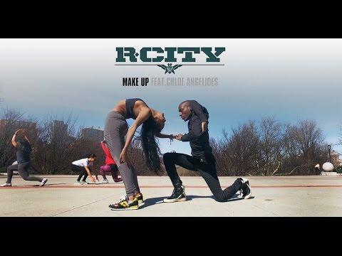R. City - Make Up ft. Chloe Angelides | YAK Films Bones & Rebekah #DanceOnRCity