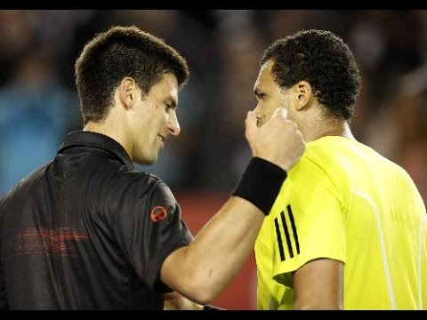 Jo-Wilfried Tsonga VS Novak Djokovic Highlight 2010 QF