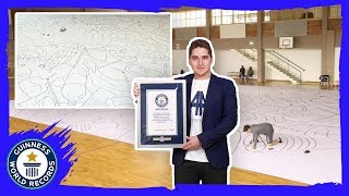 Largest drawing by an individual! - Guinness World Records