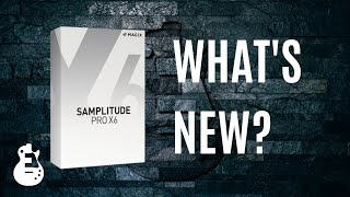 Samplitude Pro X6 - Introducing the new features