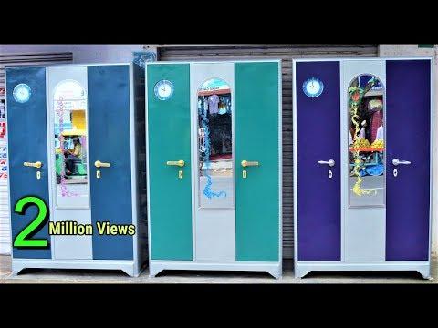 New Latest Triple 3 Door Almirah Steel Cupboard In Popular Furnitures In YPR Bengaluru