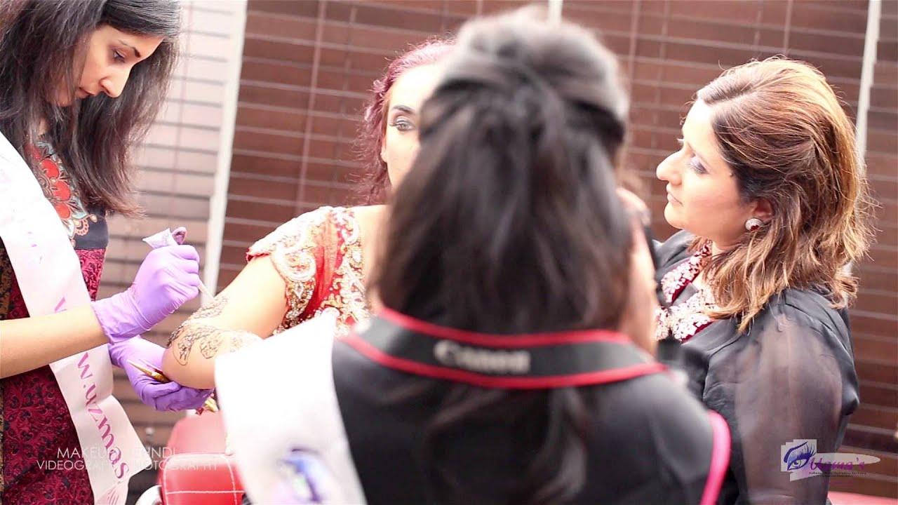 Uzma S Mehndi Makeup : Uzmas makeup hair styling mehndi photography videography