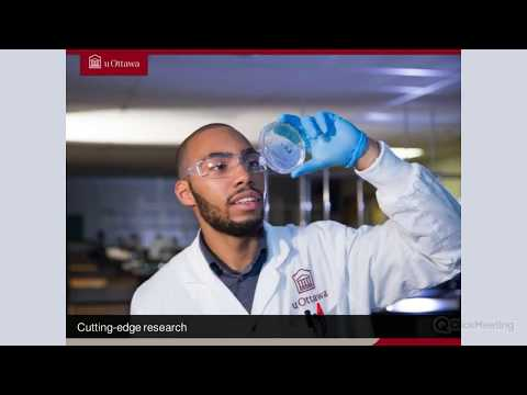 Webinar about the University of Ottawa