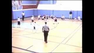 10 year old half court shot