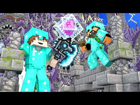 50 vs 2 ATTACK ON WATER CASTLE! ULTIMATE WAR GUNS MOD IN MINECRAFT!