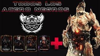 """Gears of War 4 l Todos los Acero Negro  l Packs Actualizados """"1 to 10"""" l Swarm y Locust l 1080p"""