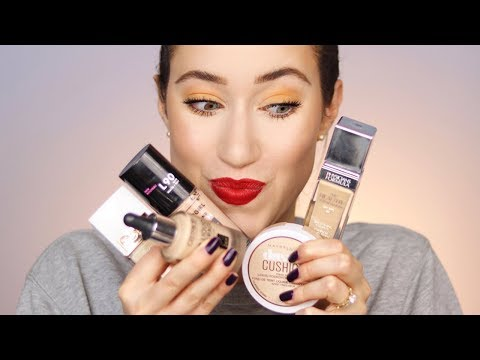The Best Foundations From The Drugstore 😱