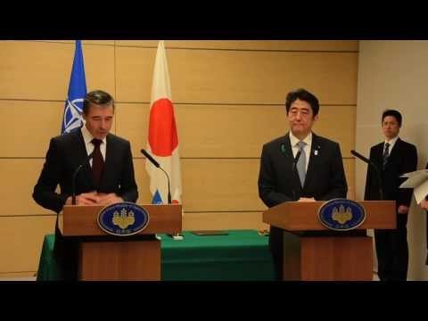 Signature of the Joint Political Declaration between NATO and Japan