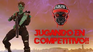 "💀 ¡JUGANDO EN EL MODO ""SOLO SHOWDOWN""! 💀 ~ FORTNITE"