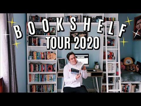 BOOKSHELF TOUR 2020