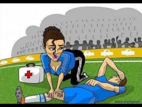Смешные картинки и карикатуры про футбол часть 2
