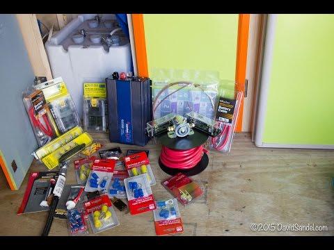 Living in a Van: Battery System Installation - #VanLife