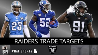 Raiders Trade Rumors: 10 Players On Defense Oakland Should Target Before 2019 NFL Trade Deadline