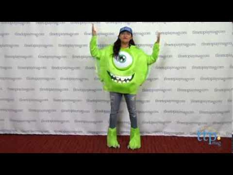 9ea8e912d3b6 Monsters University Mike Deluxe Adult Costume from Disguise - YouTube