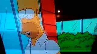 "HOMER SIMPSON SINGING ""THE DOORS THE END"" ENGLISH!"