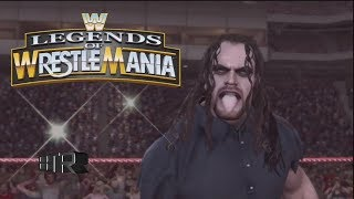 WWE Legends Of Wrestlemania:All Finishers Including SVR 2009 Superstars