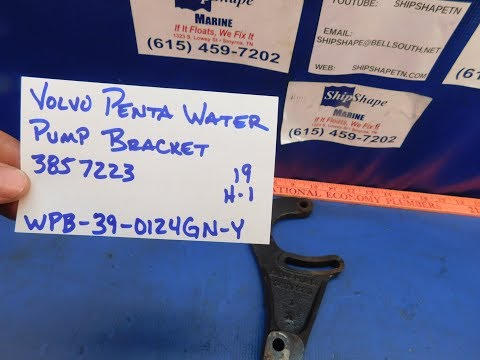 FOR SALE - Volvo Penta Water Pump Bracket 3857223 $39.95 H-1