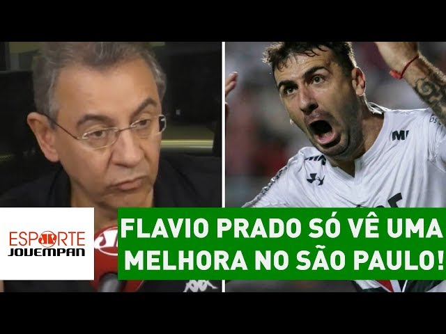 Flavio Prado só vê UMA melhora no São Paulo! SAIBA qual!