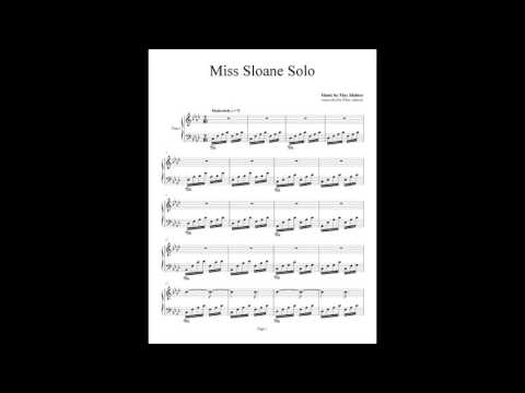 Miss Sloane Solo - Max Richter