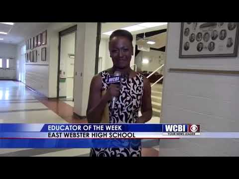 Educator of the Week Teaser 2/28 - East Webster High School