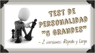 Test de Personalidad de los 5 Grandes Gratis