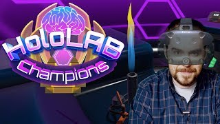 VR Quickie: Chemistry Class meets VR! - HoloLAB Champions review on HTC Vive