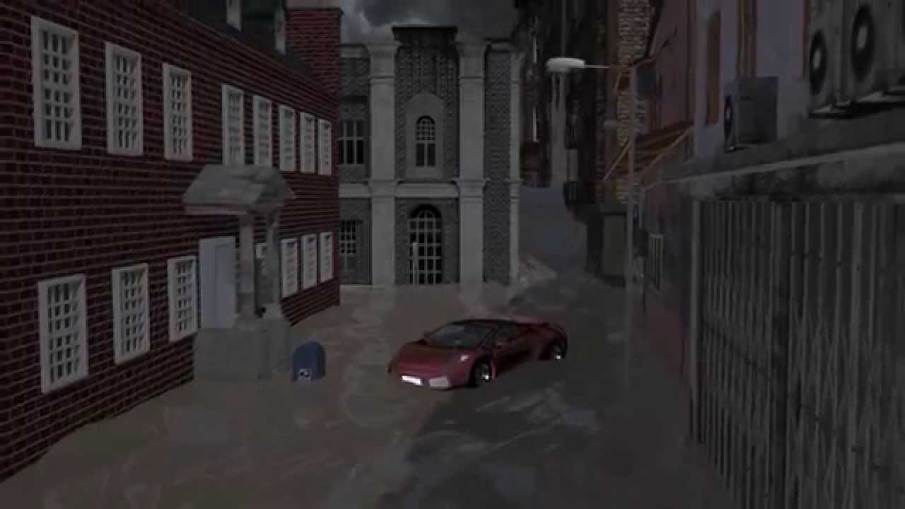 3d Animated Flash Flood Youtube
