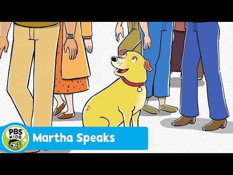 MARTHA SPEAKS | Theme Song | PBS KIDS