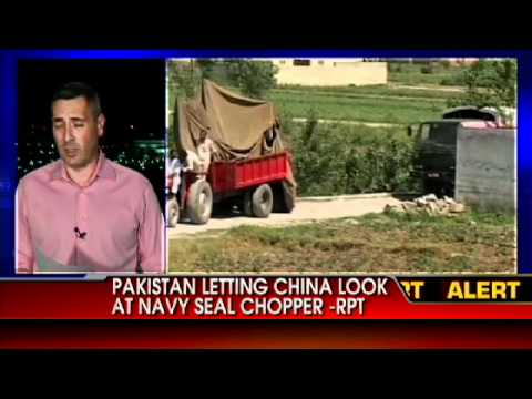 RPT: Pakistan Letting China Look at Navy SEAL Chopper From Bin Laden Raid